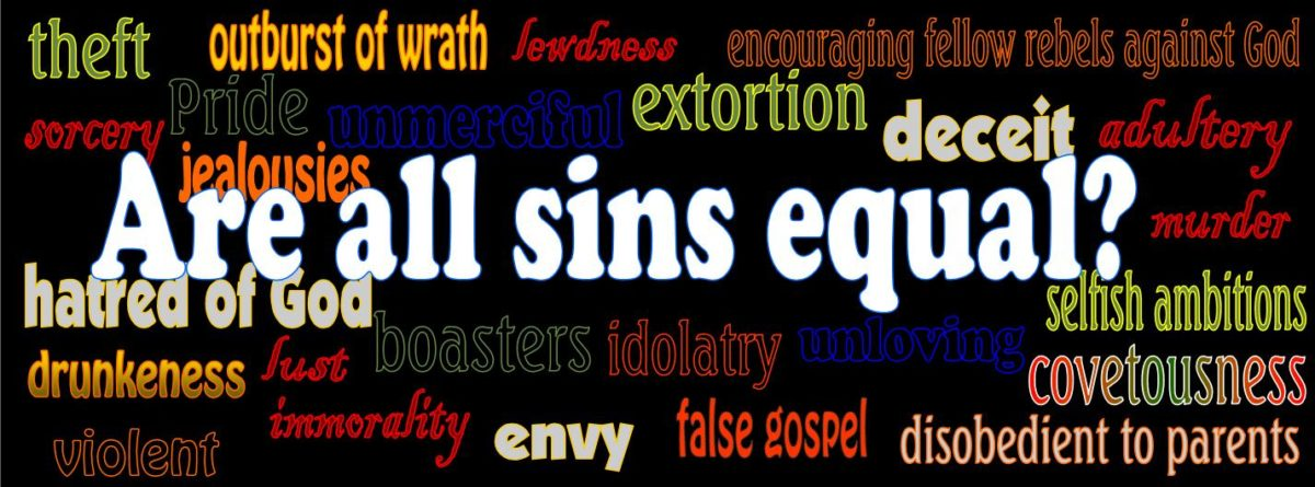 Are all sins equal